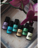 Top 6 Essential Oil Gift Set - 6x10ml - Eucalyptus, Tea Tree, Lavender, Peppermint, Lemongrass, Sweet Orange