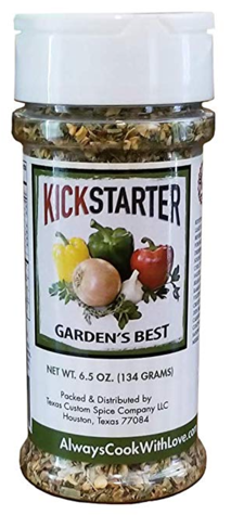 Kelli Coffee's Always Cook With Love- Kick Starter Garden's Best Spice
