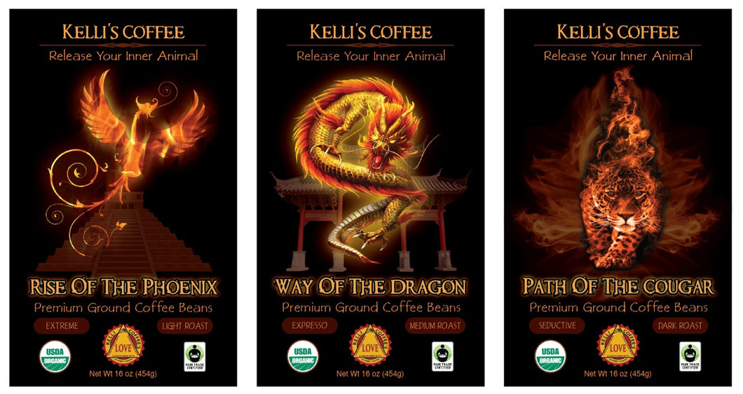 Variety 3-Pack on Sale (Rise of the Phoenix, Way of the Dragon, Path of the Cougar)