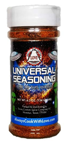 Kelli Coffee's Always Cook With Love Universal Seasoning