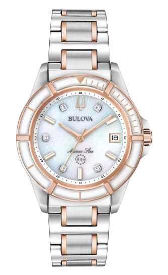 BULOVA 98P187 Women's Marine Star Watch
