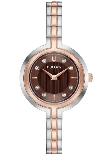 BULOVA 98P194 Ladies Diamond Watch