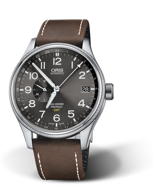 ORIS BIG CROWN PROPILOT GMT, SMALL SECOND 01 748 7710 4063-07 5 22 05FC
