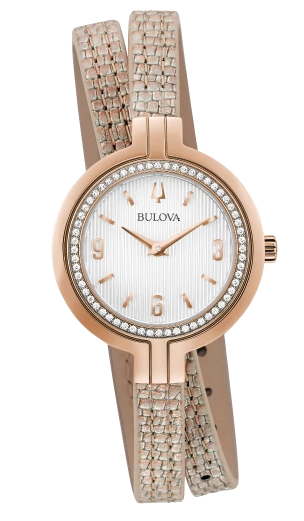 BULOVA 98R279 Ladies Diamond Watch