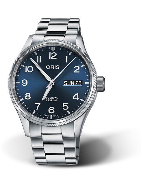 ORIS BIG CROWN PROPILOT BIG DAY DATE 01 752 7698 4065-07 8 22 19