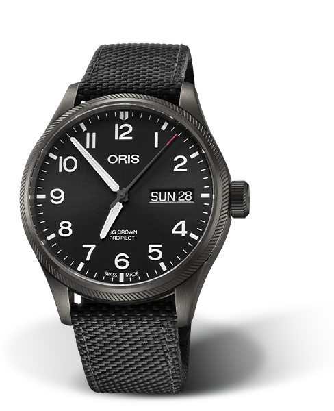 ORIS BIG CROWN PROPILOT BIG DAY DATE 01 752 7698 4264-07 5 22 15GFC