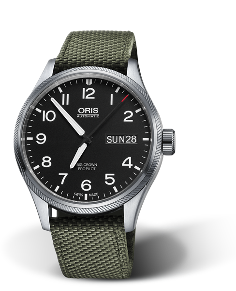 ORIS BIG CROWN PROPILOT BIG DAY DATE 01 752 7698 4164-07 5 22 14FC