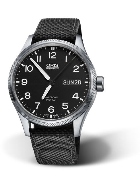 ORIS BIG CROWN PROPILOT BIG DAY DATE 01 752 7698 4164-07 5 22 15FC