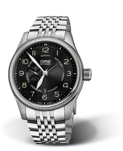 ORIS BIG CROWN SMALL SECOND, POINTER DAY 01 745 7688 4064-07 8 22 30