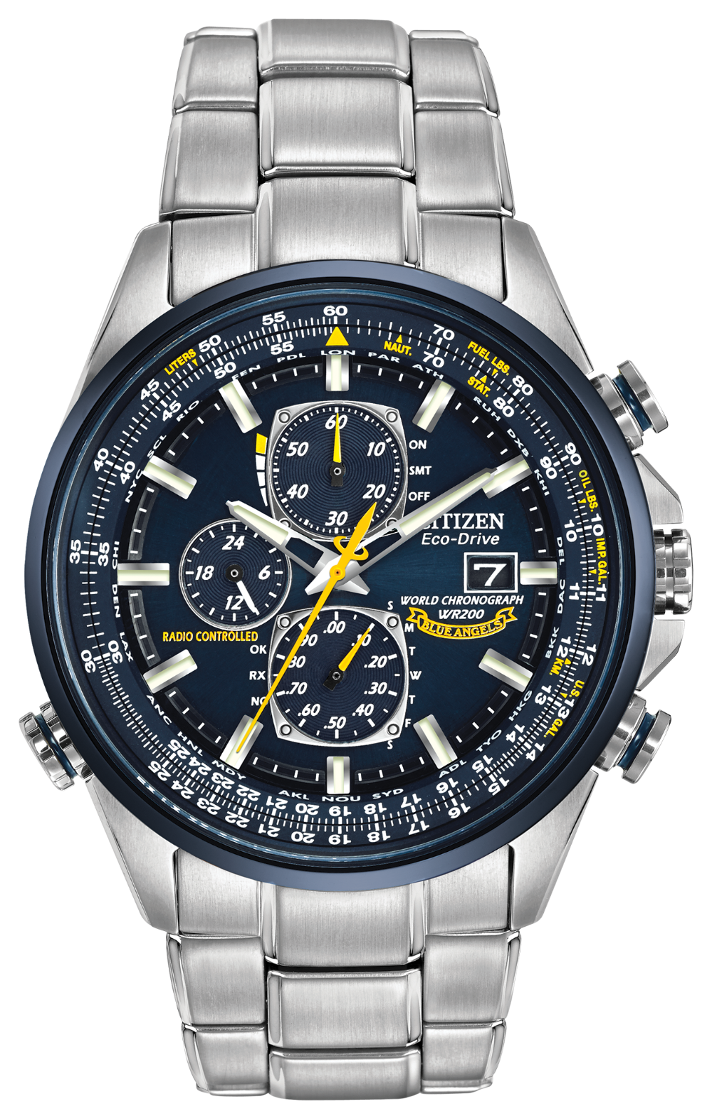 Blue Angels WORLD CHRONOGRAPH A-T AT8020-54L