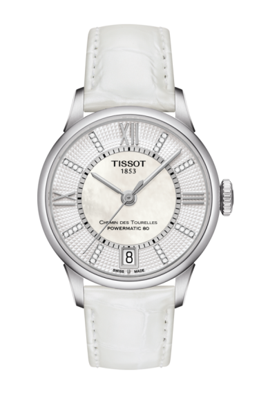 TISSOT CHEMIN DES TOURELLES POWERMATIC 80 LADY T0992071611600