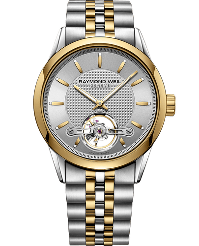Freelancer Calibre RW1212 Gold Silver Automatic Watch, 42mm   2780-STP-65001