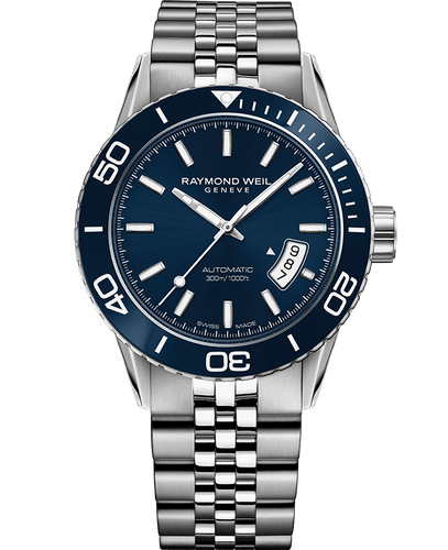 Freelancer Men's Blue Diver Steel Automatic Watch, 42mm  2760-ST3-50001