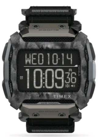 TIMEX Command™ Shock Fabric FAST WRAP® Watch TW5M28500 54mm