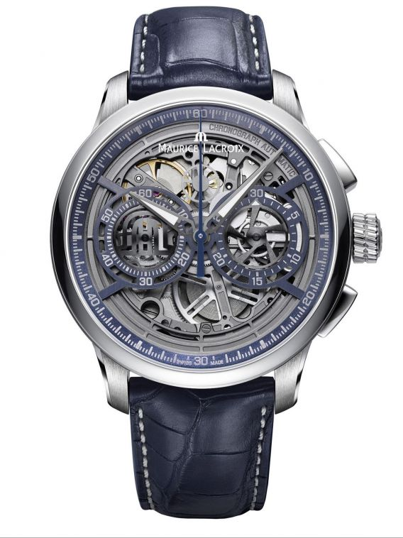 MASTERPIECE Chronograph Skeleton 45mm MP6028-SS001-002-1