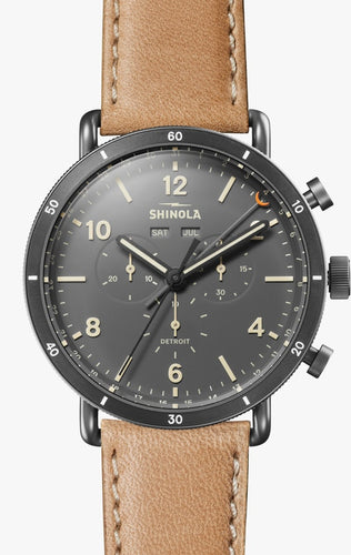 SHINOLA THE CANFIELD SPORT CHRONOGRAPH 45MM S0120089891