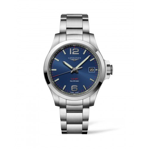 CONQUEST THE LONGINES CONQUEST V.H.P. 41MM BLUE DIAL L37164966
