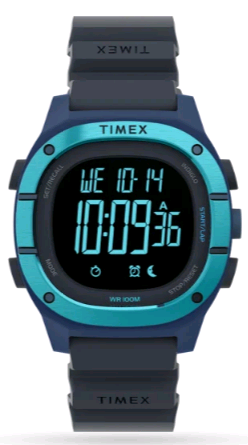 TIMEX Command™ LT Silicone Strap Watch TW5M35500 40mm