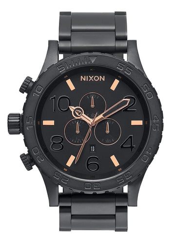 51-30 CHRONO , 51 MM All Black/Rose Gold A083-957-00