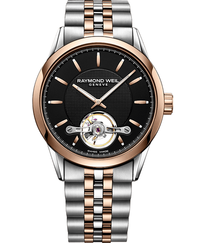 Calibre RW1212, two-tone, black dial Automatic open balance wheel, 42mm 2780-SP5-20001