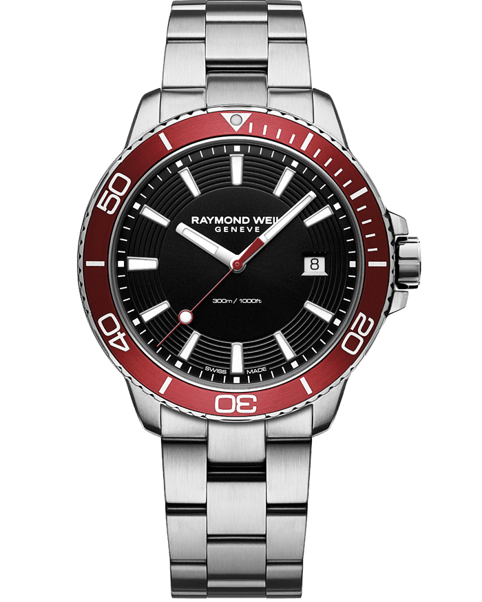 Tango 300 Men's Red Diver Watch, 42mm 8260-ST4-20001