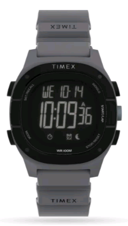 TIMEX Command™ LT Silicone Strap Watch TW5M35300 40mm