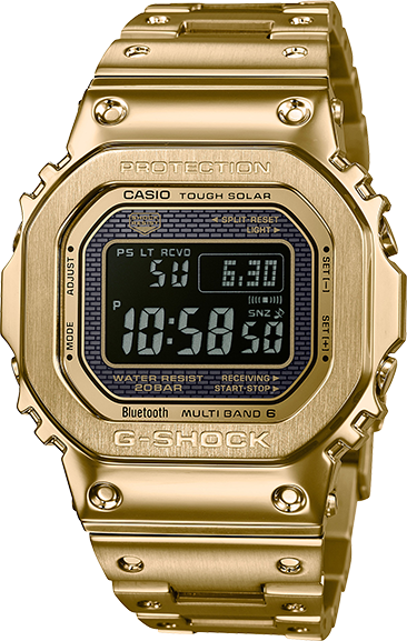 Casio G-Shock Digital GMWB5000GD-9