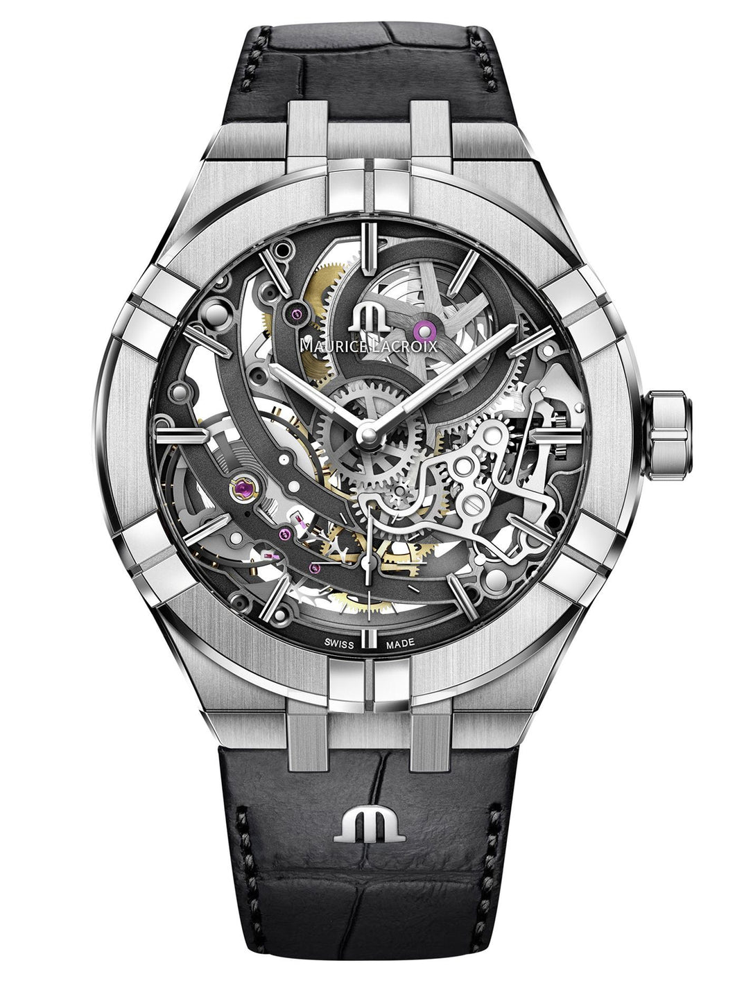 AIKON Automatic Skeleton 45mm AI6028-SS001-030-1