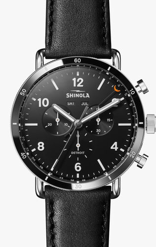 SHINOLA THE CANFIELD SPORT CHRONOGRAPH 45MM S0120089889