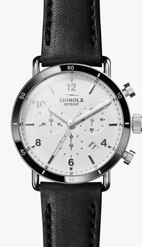 SHINOLA THE CANFIELD SPORT CHRONOGRAPH 40MM S0120089888