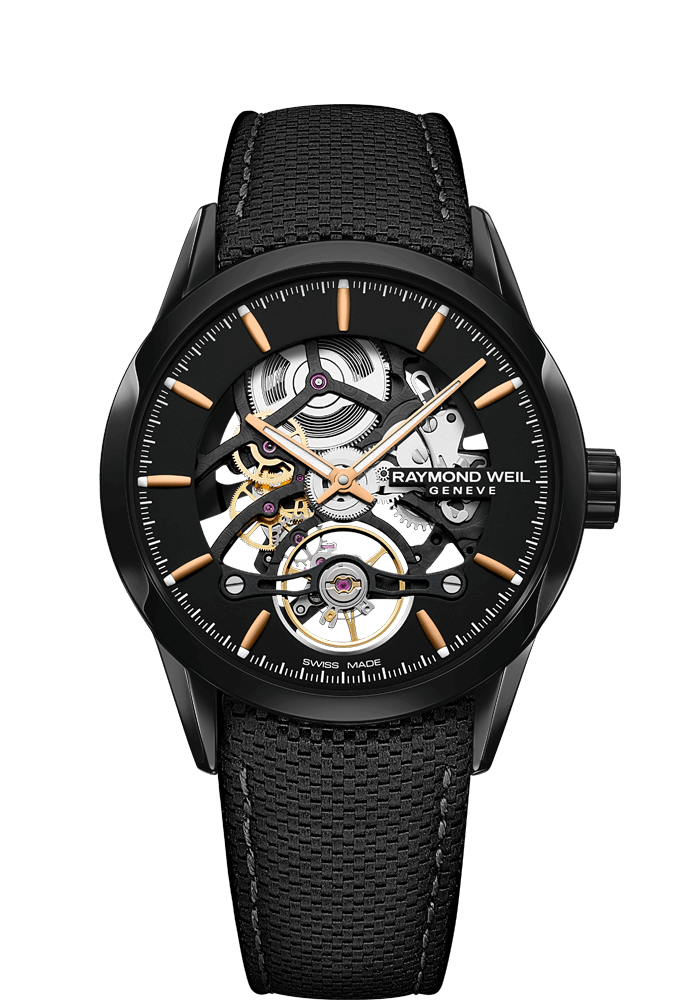 Freelancer Calibre RW1212 Skeleton Black Automatic Watch, 42mm  2785-BC5-20001