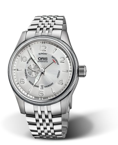 ORIS BIG CROWN SMALL SECOND, POINTER DAY 01 745 7688 4061-07 8 22 30