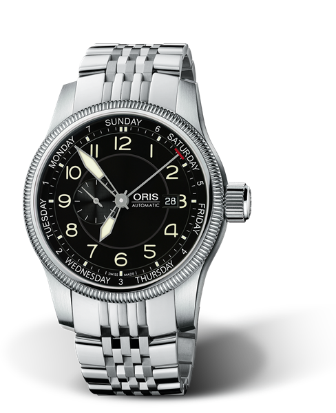 ORIS BIG CROWN SMALL SECOND, POINTER DAY 01 745 7629 4064-07 8 22 76