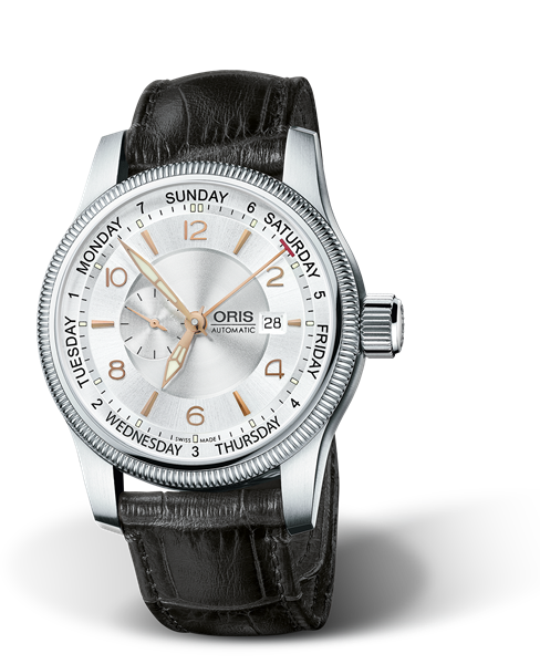 ORIS BIG CROWN SMALL SECOND, POINTER DAY 01 745 7629 4061-07 5 22 76FC