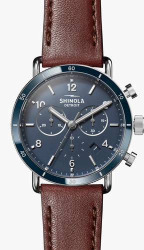 SHINOLA THE CANFIELD SPORT CHRONOGRAPH 40MM S0120089887