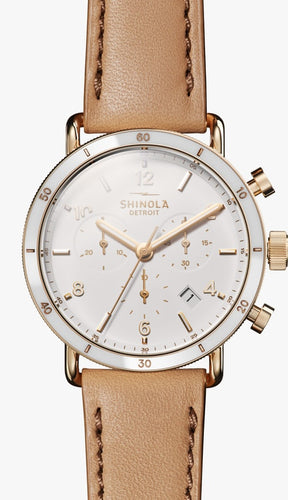 SHINOLA THE CANFIELD SPORT CHRONOGRAPH 40MM S0120089885