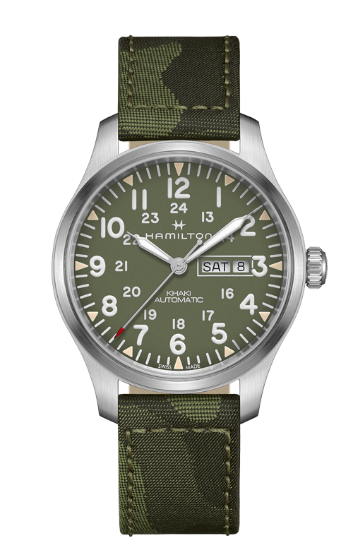 KHAKI FIELD DAY DATE AUTO H70535061