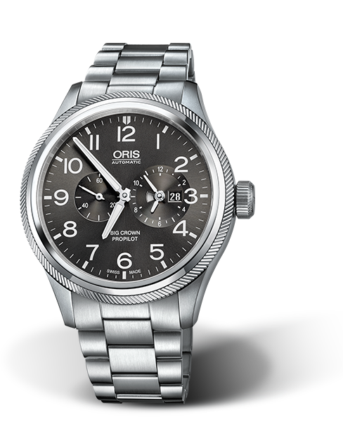 ORIS BIG CROWN PROPILOT WORLDTIMER 01 690 7735 4063-07 8 22 19-1