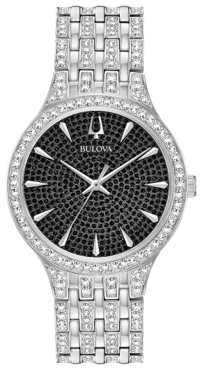BULOVA 96A227 Mens Crystal Watch