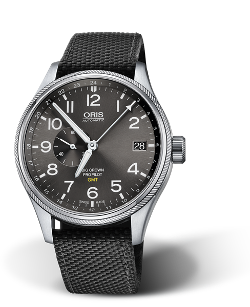 ORIS BIG CROWN PROPILOT GMT, SMALL SECOND 01 748 7710 4063-07 5 22 15FC