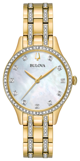 BULOVA 98X119 Women's Crystal Watch