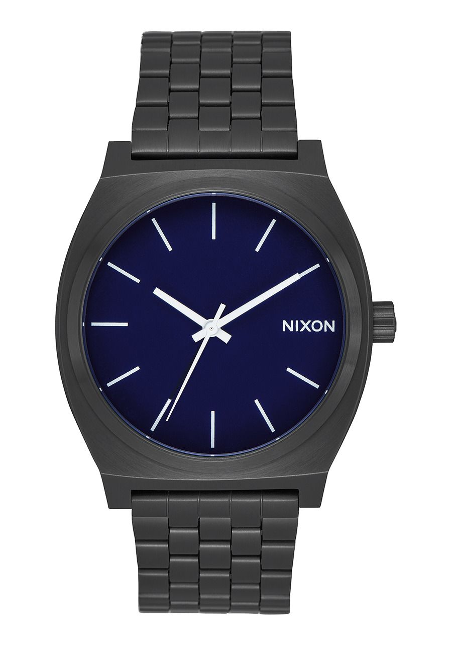 TIME TELLER , 37 MM All Black / Dark Blue A045-2668-00