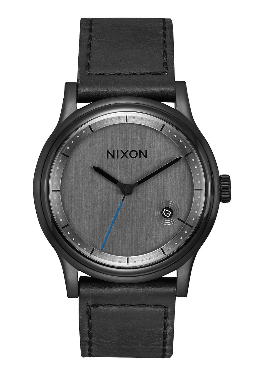 STATION LEATHER , 41 MM All Black A1161-001-00