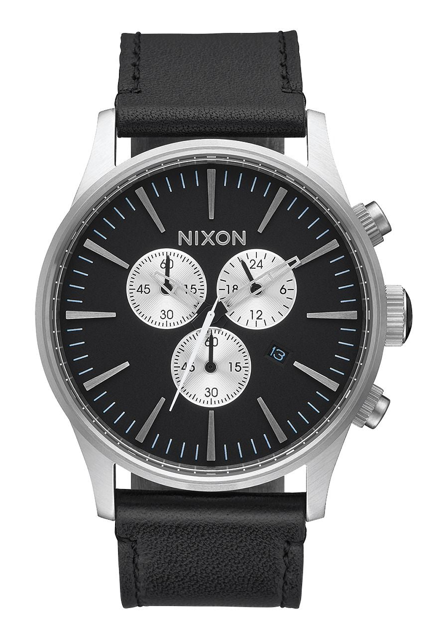 SENTRY CHRONO LEATHER , 42 MM Black A405-000-00