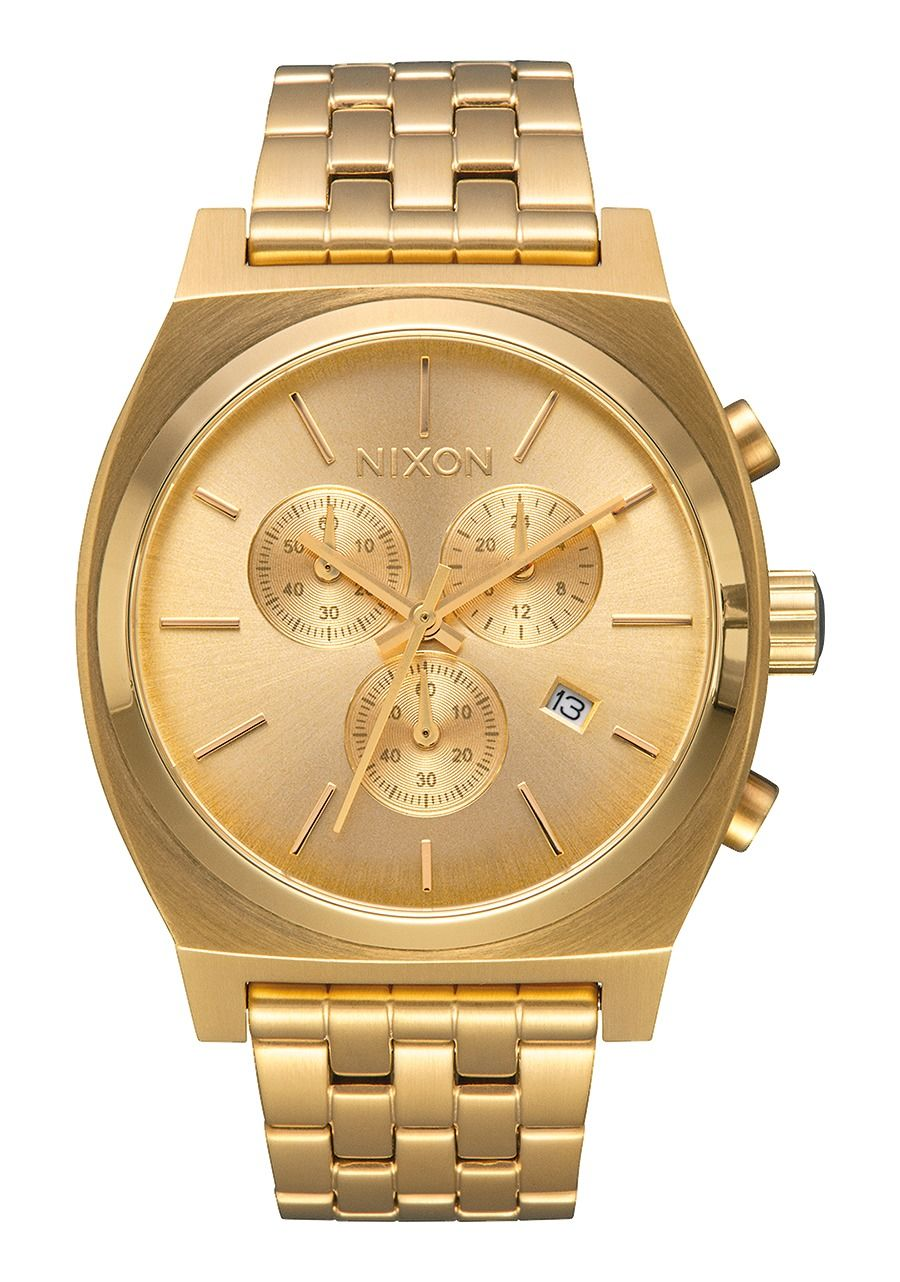 TIME TELLER CHRONO , 39 MM All Gold A972-502-00
