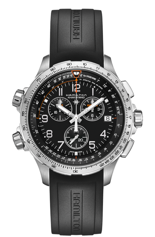 KHAKI X-WIND CHRONO QUARTZ GMT H77912335