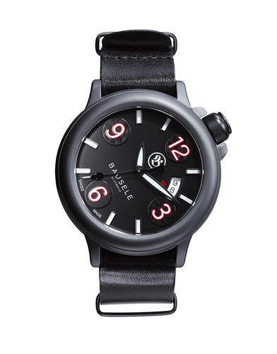 Pilot All Black Leather (Swiss)