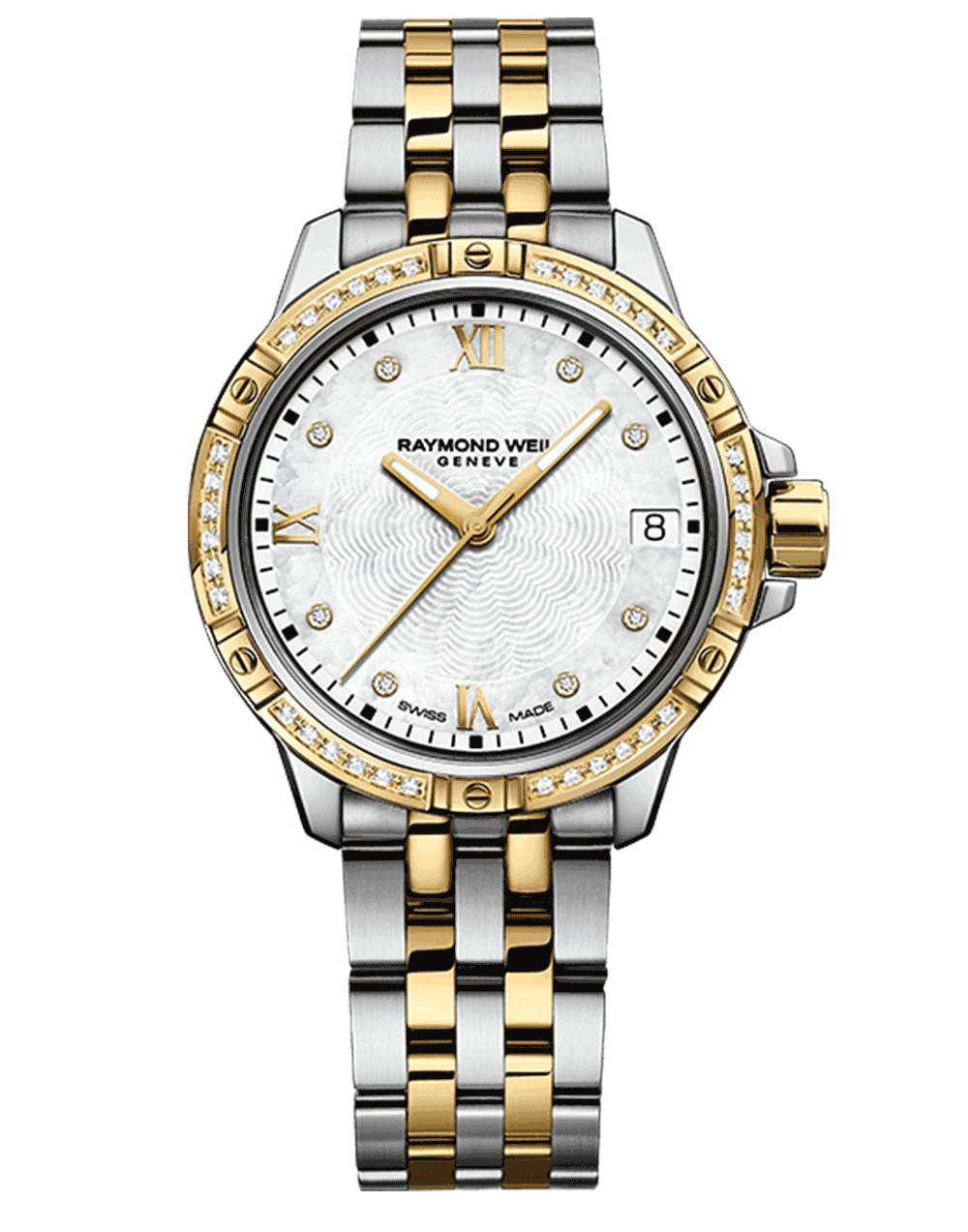 Tango Classic Ladies Gold Two-tone 44 Diamond Quartz Watch, 30mm 5960-SPS-00995