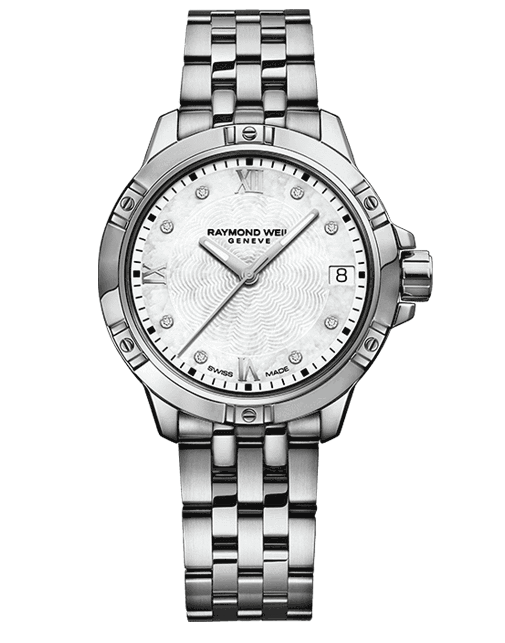 Tango Classic Ladies 8 Diamond Steel Quartz Watch, 30mm 5960-ST-00995