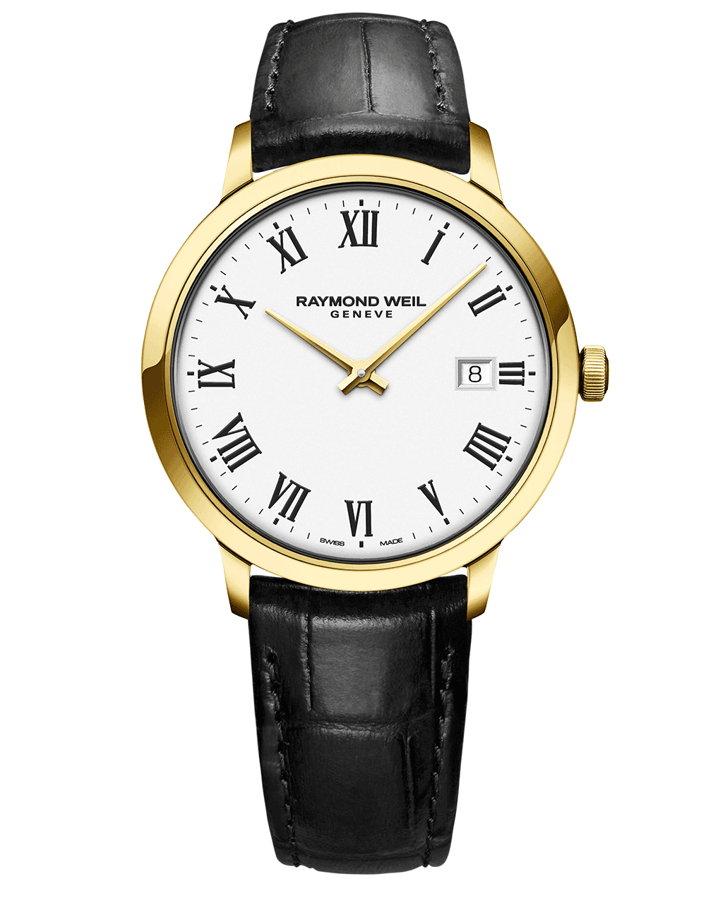 Toccata Men's Gold-Plated White Dial Quartz Watch 39 mm 5485-PC-00300